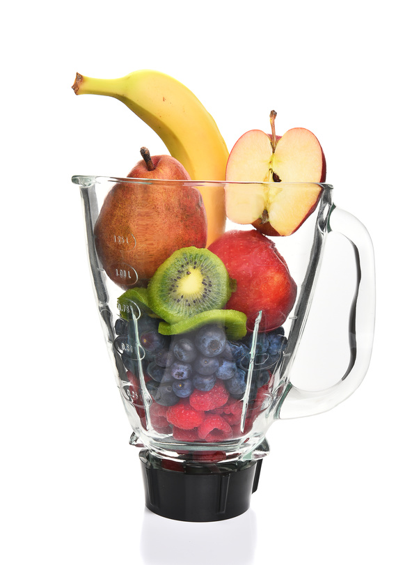 Blender Filled With Fruit