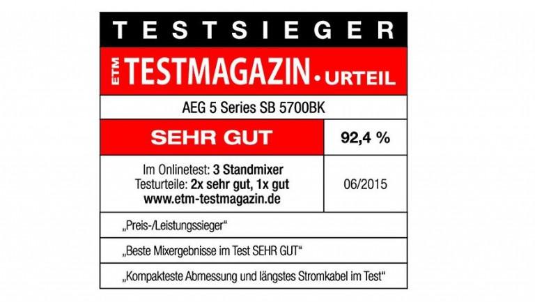 AEG PerfectMix Standmixer 5 Series SB 5700BK_6