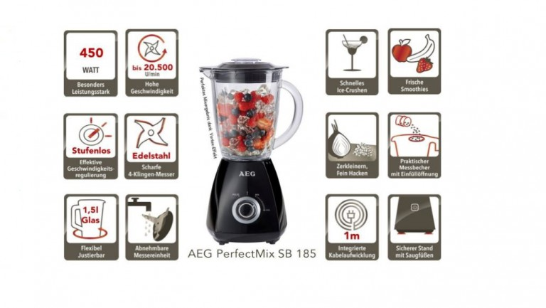 AEG Standmixer PerfectMix SB 185_3