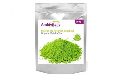 Ambivitalis Matcha-Tee Pulver
